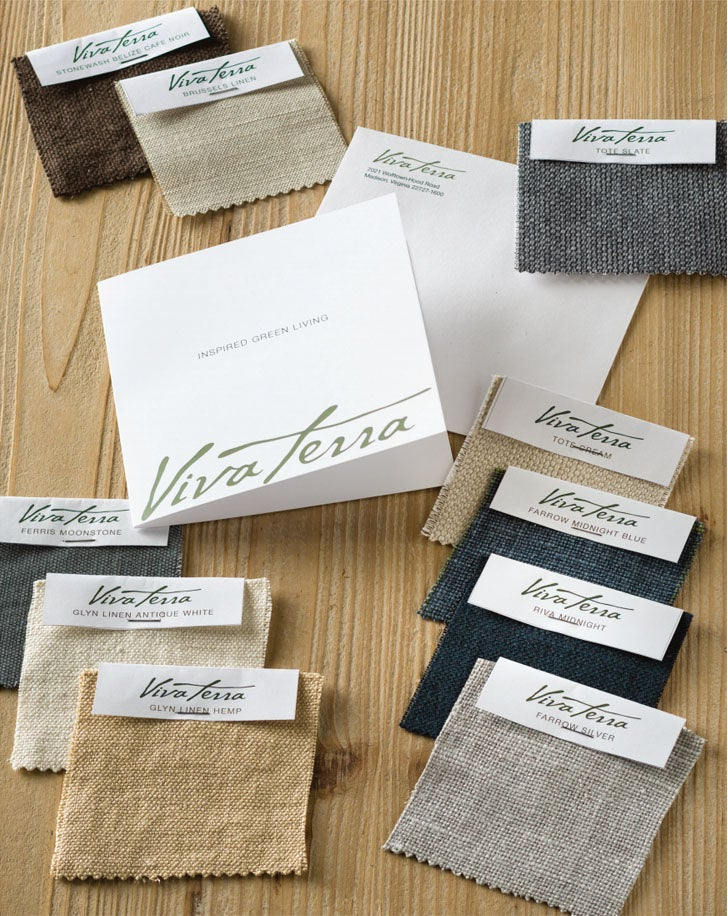 VivaTerra Fabric Swatches