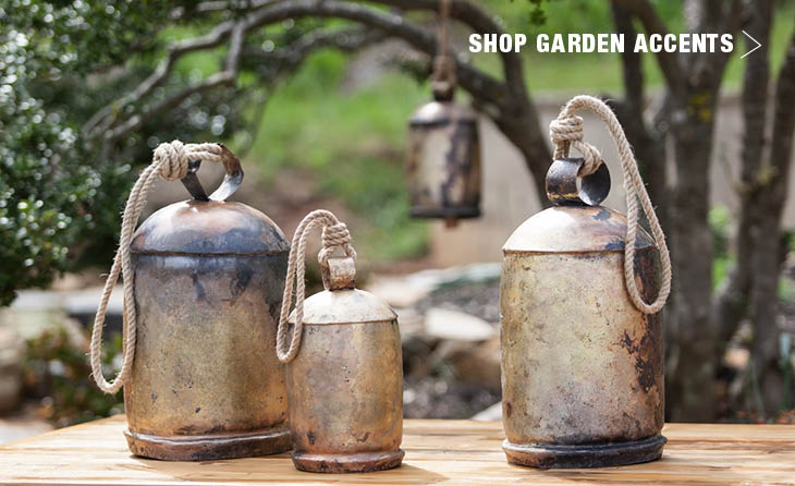 Shop garden accents