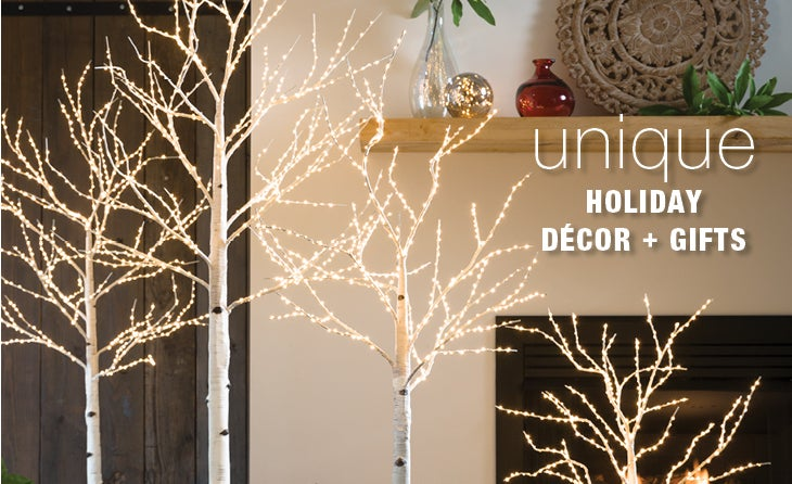 Unique Holiday Decor and gifts
