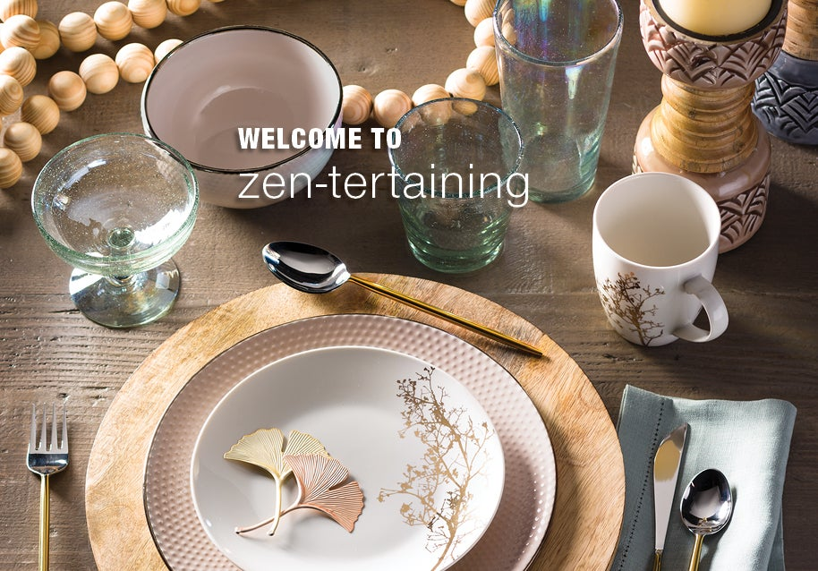 Welcome to ZEN-tertaining. See our New Holiday Arrivals