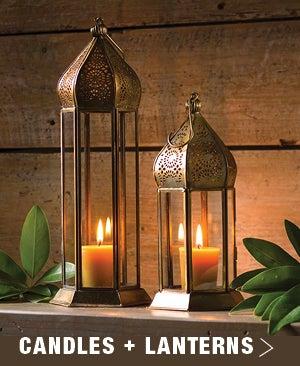 Candles + Lanterns