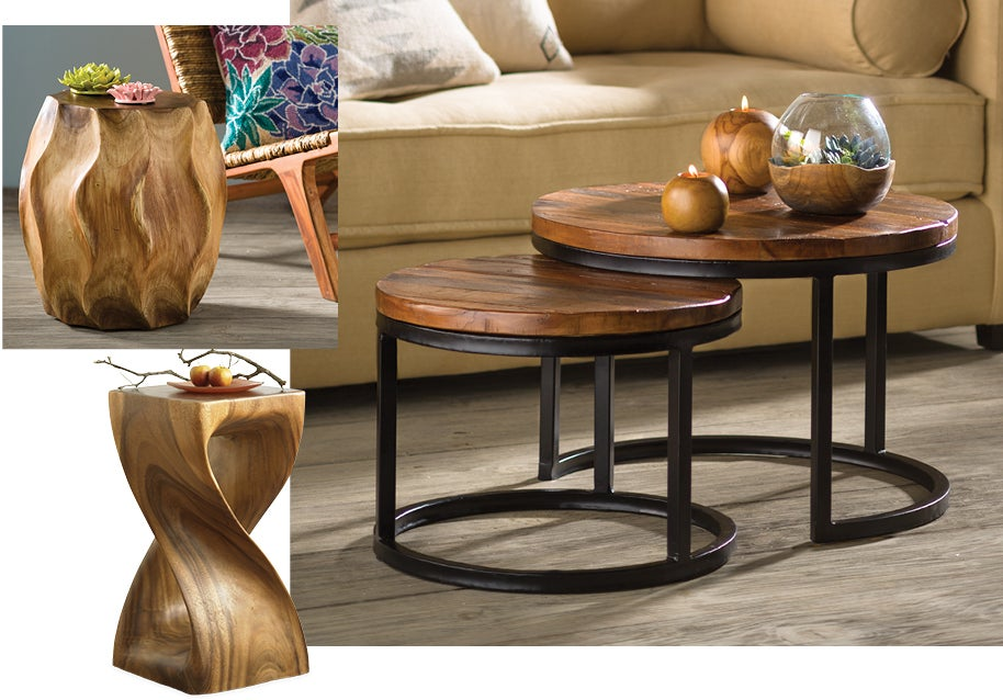 rooted in quality, ethically made and sustainably sourced accent furniture.
