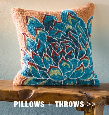 SHOP PILLOWS & THROWS