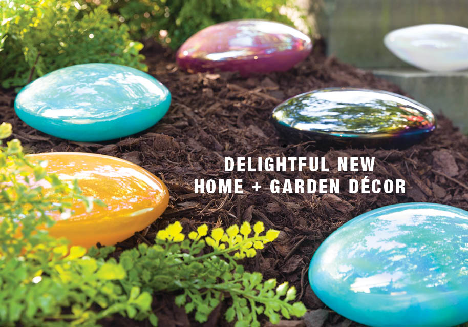 delightful new home + garden decor