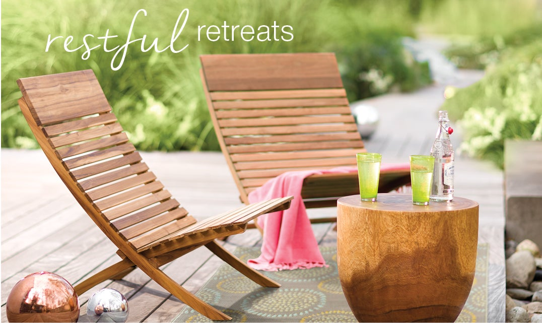 restful retreats