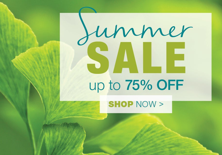 Summer sale up to 75% off - show now