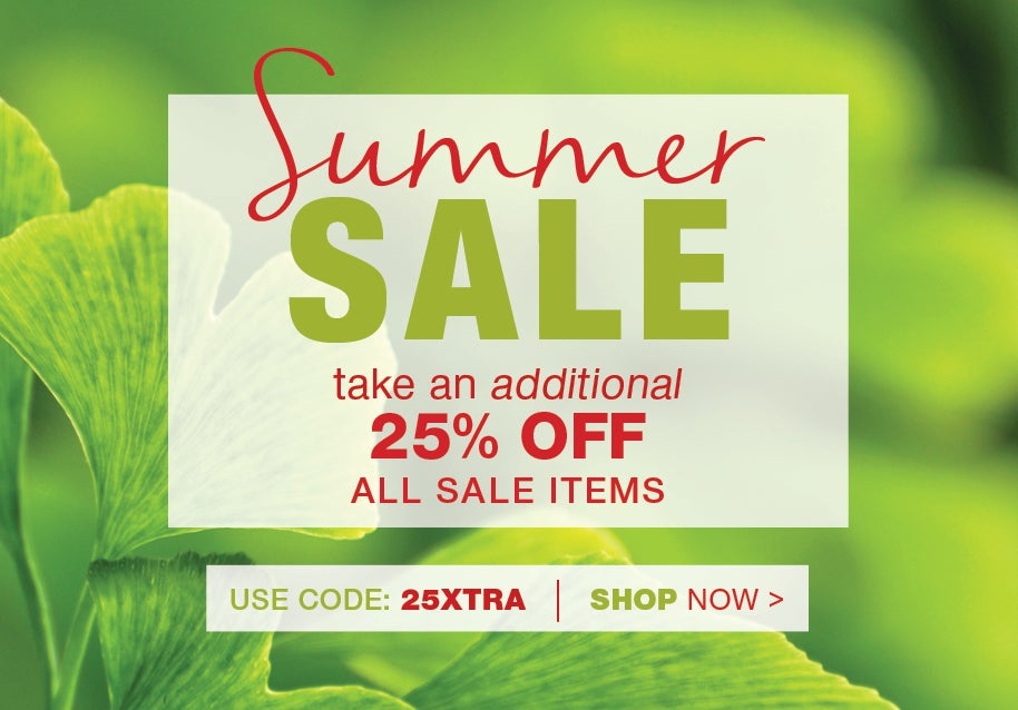 Summer sale take an additional 25% off all sale items use promo code 25XTRA - Shop Now