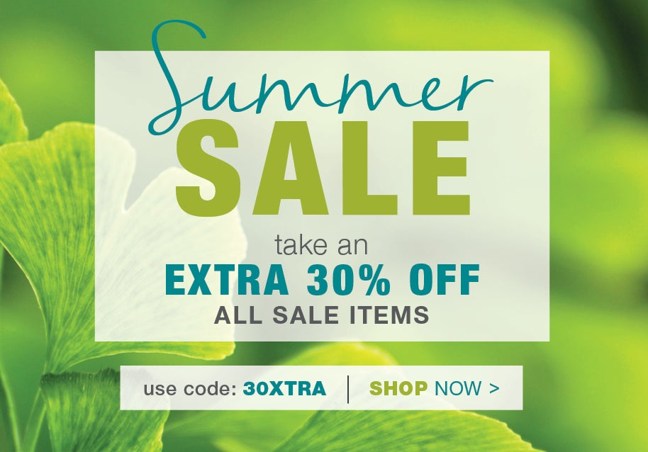 Summer sale take an additional 30% off all sale items use promo code 30XTRA - Shop Now