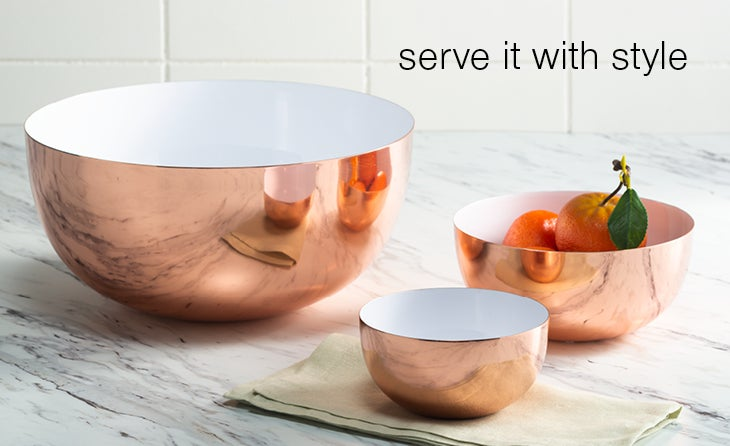serve it with style bowl set