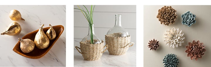assortment of decorative objects - SHOP DECORATIVE OBJECTS