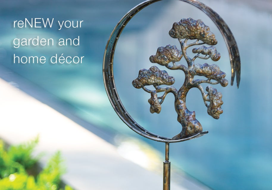 ReNEW your garden and home decor - Shop New Arrivals