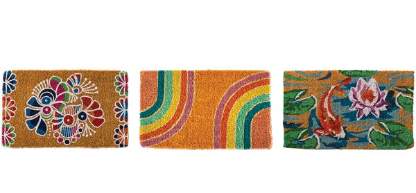 assortment of ruggs and doormats - SHOP RUGS + DOORMATS