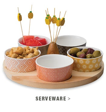 5-Bowl Appetizer Tray - shop serveware