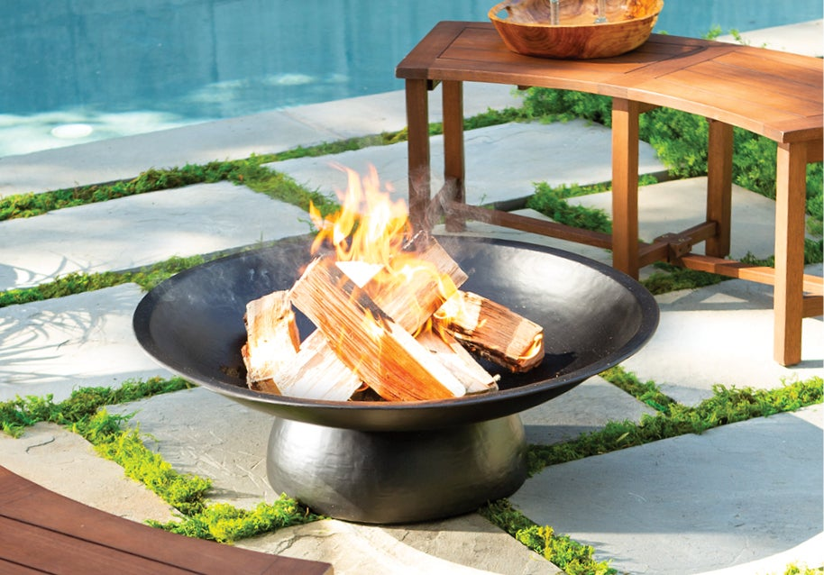 Zen Metal Fire Pit  - Shop Outdoor Entertaining