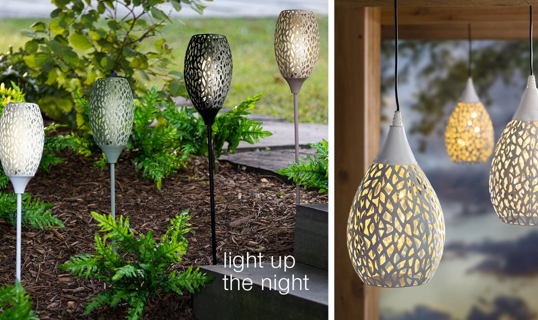 light up the night - shop outdoor lighting