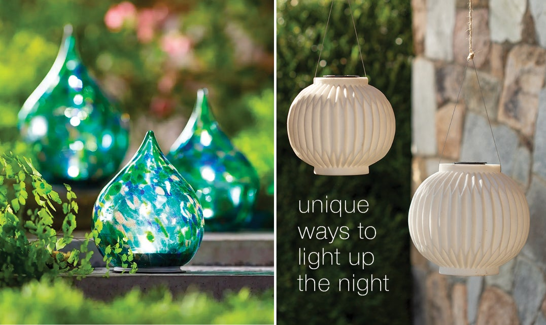 Firefly Lanterns - unique ways to light up the night - shop outdoor lighting