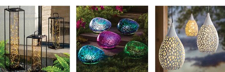assortment of outdoor lighting products - SHOP OUTDOOR LIGHTING