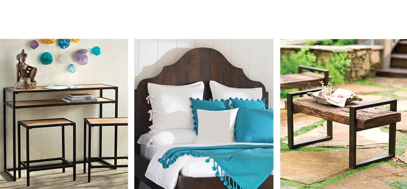 assortment of reclaimed furniture - Shop Reclaimed Furniture