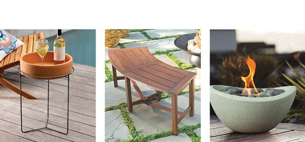 image of various new and best selling Outdoor De´cor - Shop Outdoor Décor