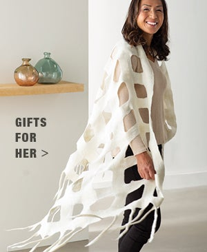 Image of Windowpane Wrap - Shop Gifts for Her