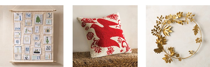Image of assortment of Holiday Decor products - Shop Holiday Decor