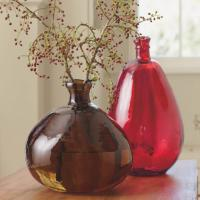 balloon glass vases