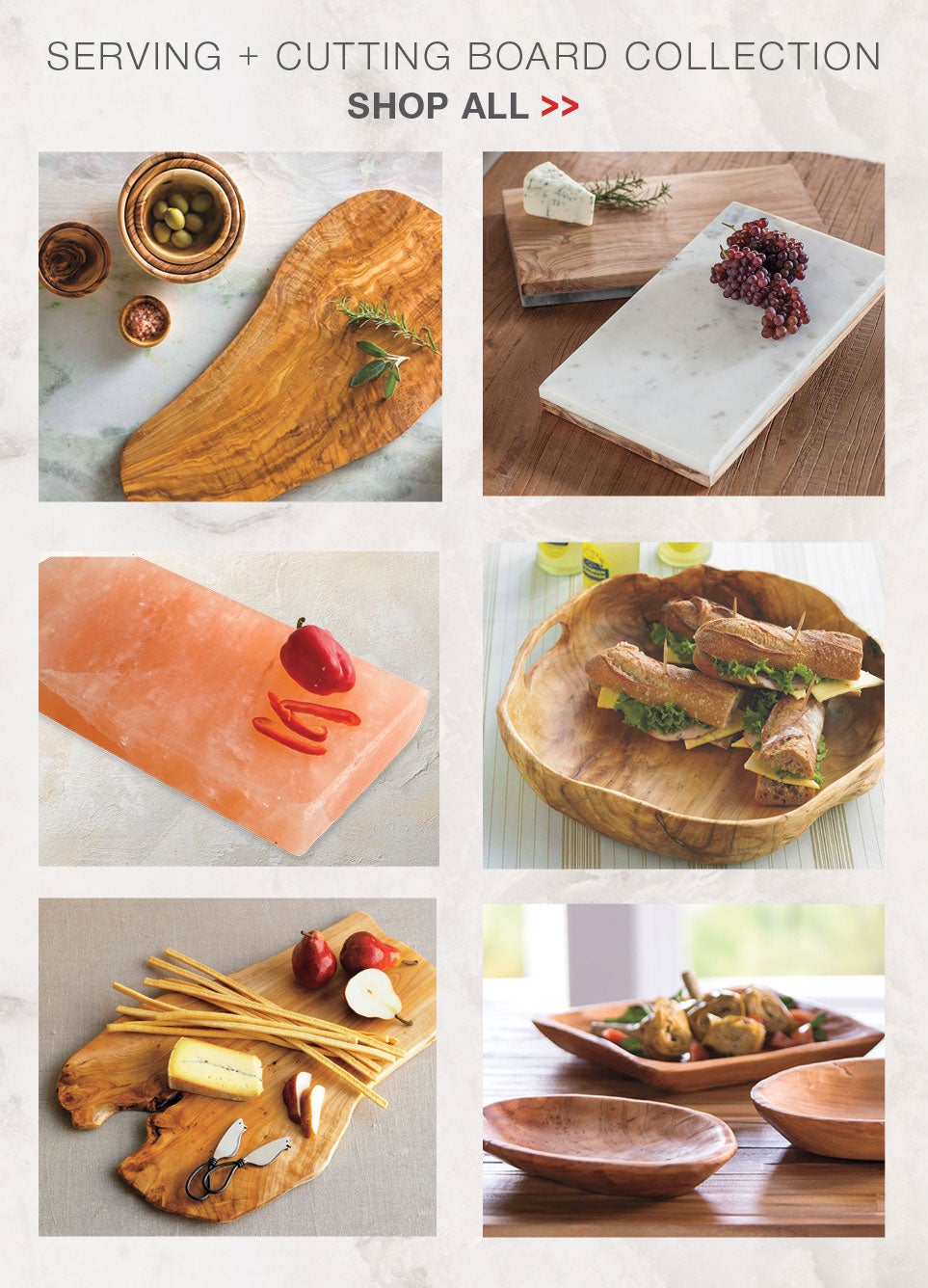 Serving + Cutting Board Collection - Shop All