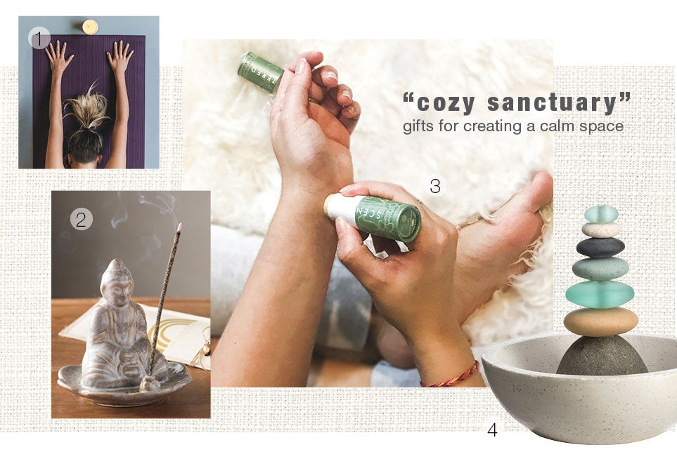 cosy sanctuary - gifts for creating a calm space