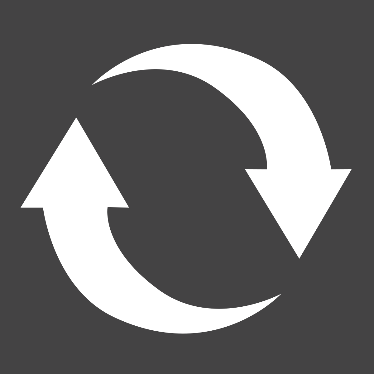 Recycle designation icon